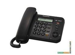 Проводной телефон Panasonic KX-TS2358RUB (черный)