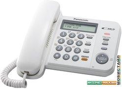 Проводной телефон Panasonic KX-TS2358RUW (белый)