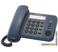 Проводной телефон Panasonic KX-TS2352RUC (синий)
