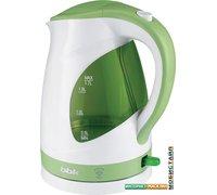Электрочайник BBK EK1700P Белый/зеленый