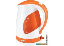 Электрочайник BBK EK1700P Белый/оранжевый