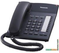 Проводной телефон Panasonic KX-TS2382RUB (черный)