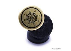 Автодержатель Optima RM-C31 черно-золотой
