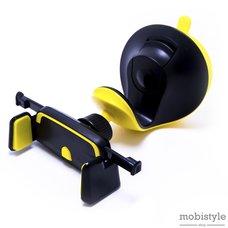Автодержатель Optima RM-C33 Черно-желтый