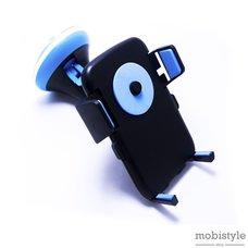 Автодержатель Optima RM-C36 черно-голубой