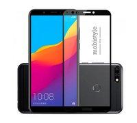 Защитное стекло для Huawei Honor 7c Black 3D Optima