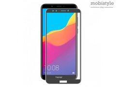 Защитное стекло для Huawei Honor 7c Pro Black 3D Optima