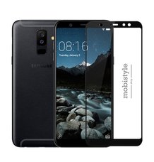 Защитное стекло для Samsung A605 (A6 Plus-2018) Black 3D Optima