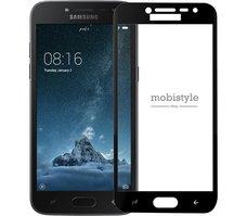 Защитное стекло для Samsung J250 (J2-2018) Black 3D Optima