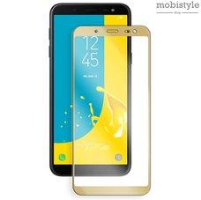 Защитное стекло для Samsung J600 (J6-2018) Gold 3D Optima