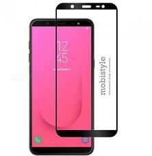Защитное стекло для Samsung J810 (J8-2018) Black 3D Optima