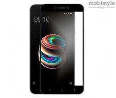 Защитное стекло для Xiaomi Redmi 5a Black 3D Optima