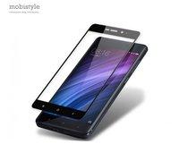 Защитное стекло для Xiaomi Redmi Note 4x Black 3D Optima