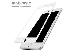Защитное стекло для iPhone 7 Plus / 8 Plus White 5D Optima