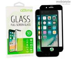 Защитное стекло для iPhone 6 Black 5D Optima