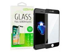 Защитное стекло для iPhone 7 / 8 Black 5D Optima