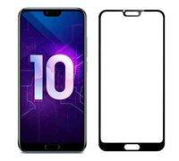 Защитное стекло для Huawei Honor 10 ПРОТИВОУДАРНОЕ (ЧЁРНОЕ 3D )
