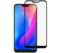 Защитное стекло для Xiaomi Mi A2 Lite / Redmi 6 PRO ПРОТИВОУДАРНОЕ (ЧЁРНОЕ FULL SCREEN )