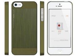 Чехол для телефона iPhone 5 ELAGO Outfit Matrix Aluminum Case camo green (ELS5OFMX-SFCGR)