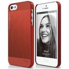 Чехол-накладка Elago для телефона iPhone 5, Outfit Matrix Aluminum, красный