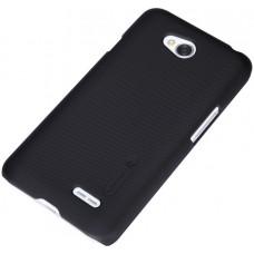 Чехол-накладка Nillkin для телефона LG L70/D320, чёрный, серия Super Frosted Shield