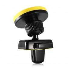 Автомобильный держатель Hoco CA16 магнитный (черный/желтый)