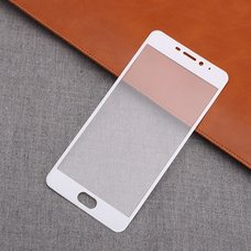 Защитное Full screen стекло для Meizu M5s (белый обод)