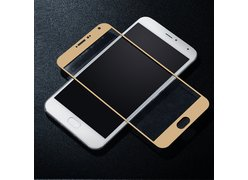 Защитное стекло для телефона Meizu Pro 6 золотое