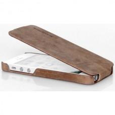 Чехол-блокнот Borofone Colonel Leather Case для телефона iPhone 5