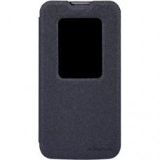 Чехол Nillkin LG L90 Dual D410 Sparkle Series Black