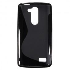 Чехол силиконовый New Line + плёнка для LG L Bello/D331/D335 black