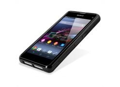 Силиконовый чехол-накладка для Sony Xperia Z3 compact Black