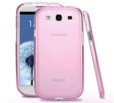 Чехол Remax для телефона Samsung I9300 (S3) Pink