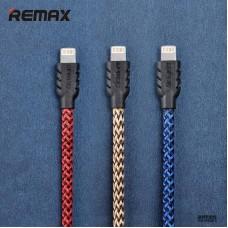 Нейлоновый USB Дата-кабель Remax для iPhone 5/6