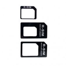 Nano SIM - SIM + Micro SIM адаптер комплект из 3 шт.