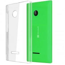 Ультратонкий чехол-накладка для телефона Microsoft Lumia 435 и 532, силикон
