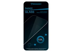 Защитное стекло MediaGadget  для Nokia X/X+ 0,26mm