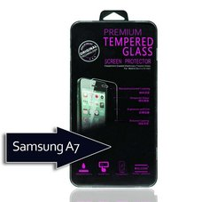 Защитное стекло Tempered Glass для Samsung Galaxy A7