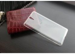 Ультратонкий чехол-накладка для телефона Sony Xperia C5 Ultra Dual, силиконовый