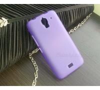 Силиконовый чехол-накладка для телефона Huawei Y3 (Y360)
