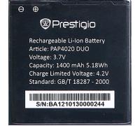 Аккумулятор для телефона Prestigio Multiphone 4020 DUO (PAP4020BA)