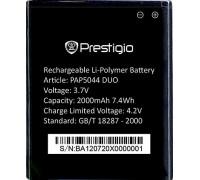 Аккумулятор для телефона Prestigio MultiPhone 5044 DUO (PAP5044BA)