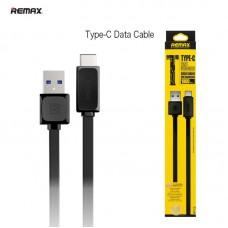 Дата-кабель Remax RT-C1 Type-C - USB 3.0 чёрный