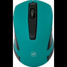 Беспроводная мышь Defender #1 MM-605 (зелёный)