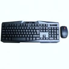Беспроводной комплект клавиатура + мышь Dowell KB-R006 USB