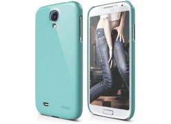 Чехол для телефона Samsung Galaxy S4 - G7 ELAGO Slim Fit Glossy Коралловый Голубой (ELG7SM-UVCBL-RT)