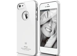 Чехол для телефона iPhone 5 ELAGO Slim Fit Glossy White (ELS5SM-UVWH-RT)