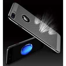 Бампер JZZS Breathable для APPLE iPhone 5/5S Чёрный